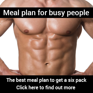 Meal plan for busy people